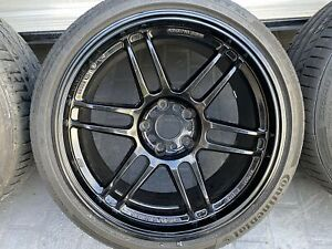Set of AME Tracer TM02 18x9 15 with 225 40 18 tyres