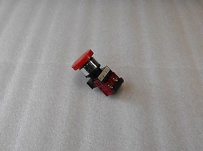 Maruyasu Red E Stop Button, A22PMD01R, 41-10279, Used, Warranty