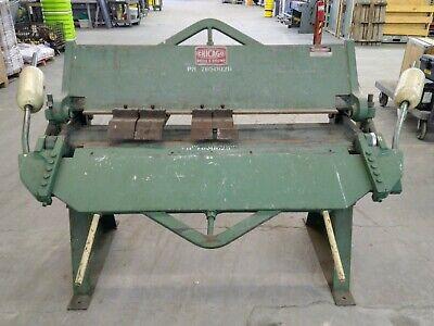 Chicago Dreis Krump Bpu-412-6 Box And Pan Hand Brake