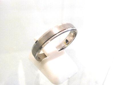 Anillo de Boda Oro Blanco 18 carats-750/1000