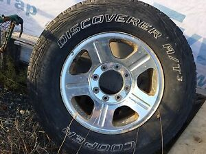 """(3) 18"""" rims and tires. Came off a 2006 F-250  St. John's Newfoundland image 7"""