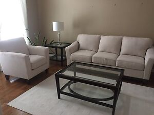 Modern Lazy Boy Sofa and 2 Chairs - never used West Island Greater Montréal image 1