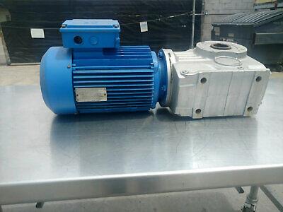 Sew Eurodrive Gear Motor 7.5hp 160 Rpm Ka77dv132s4
