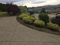 Landscaping, lawn maintenance, dump runs, gutters etc