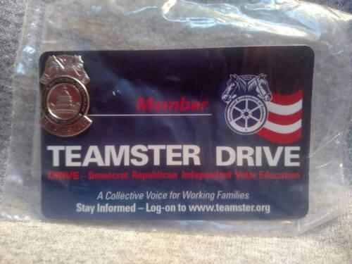 TEAMSTER DRIVE Member Lapel Pin