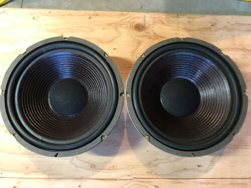"Pair of Speakerlab W1208R 12"" woofers 8 ohms - excellent condition!"