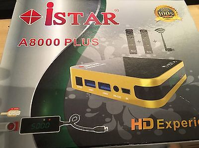 Istar Korea A8000 With 18 Months Free Online Tv 3100 Channels No Need Dish
