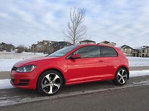 "2015 VW Golf TSI, Turbo, 5spd, 18"" GTI rims,"