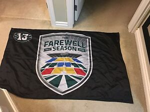 LOWERED PRICE- Limited Edition Roughriders Flag