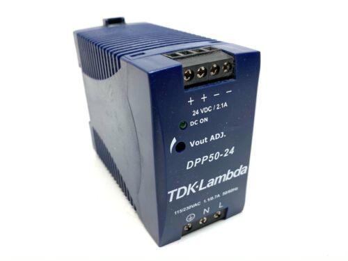 TDK Lambda DPP50-24 Power Supply 24VDC 115/230V