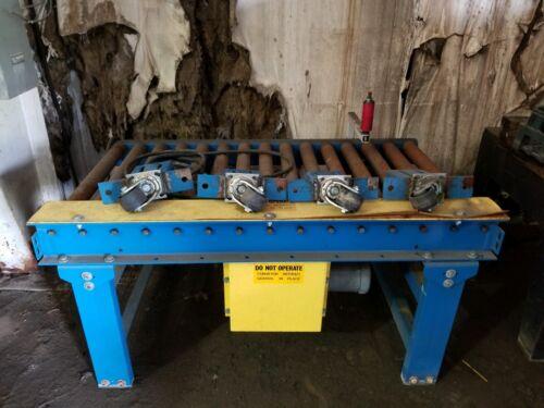 "Powered Roller Conveyor 26"" wide x 72"" long"