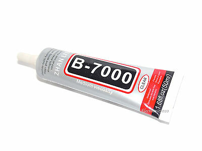 New 50Ml Multi Purpose Glue Adhesive B 7000 For Mobile Phone Us Seller Fast Ship
