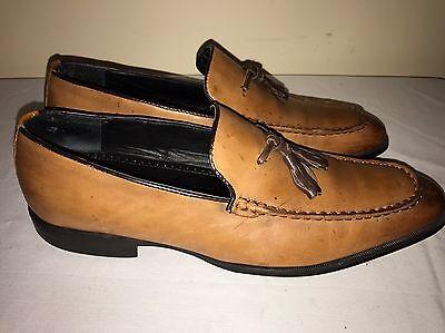 Alfani Men's Shoes Size 8M Loafers Oliver360 Flex Blast Leather Slip On Comfort