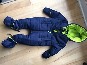 12 month one piece snowsuit