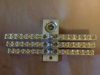 Ilsco Aluminum Neutral Bar Nb-350-42