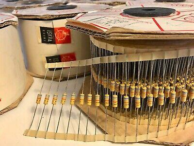 Iskra 12w 0.5w Resistors Multiple Values Genuine For Vintage Marshall Plexi
