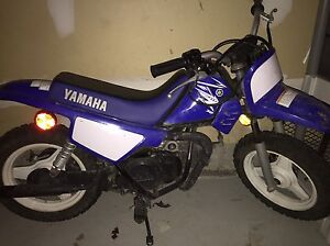 PW 50 dirt bike