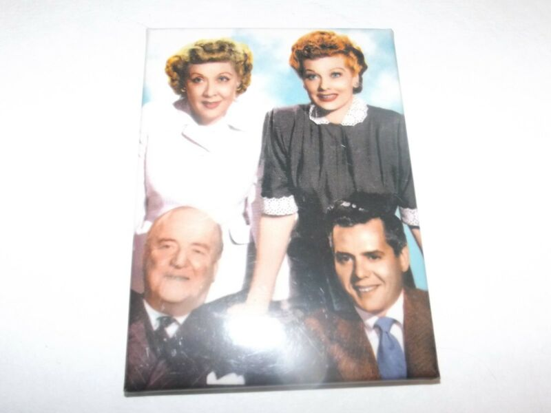 I love Lucy ATA-Boy Collectible Lucy Ethel Fred Ricky Magnet