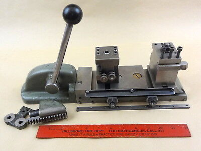 Rare Original South Bend 9 10k Lathe Handlever Double Tool Cross Slide Dts-104n