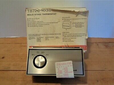 Honeywell Multi-stage Wall Thermostat T872c-1038 Tradeline