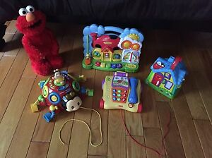 Interactive toy lot