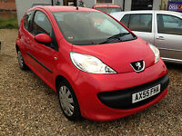 Peugeot 107 by Diss Car Centre, Diss, Norfolk