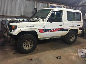 Toyota landcruiser 1985 bj 73 frp top Woomargama Greater Hume Area Preview