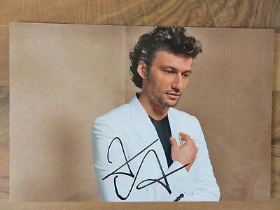 Jonas Kaufmann - Autogramm, Autograph (20x30 cm Bild)