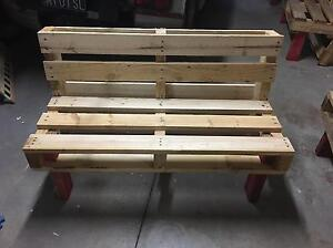 Pallet bench seating Tempe Marrickville Area Preview