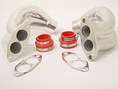DUAL PORT INTAKE MANIFOLD END CASTING KIT FITS VOLKSWAGEN TYPE1 BUG TYPE2 BUS ()