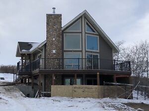 New Lakefront Cabin Hardisty Lake Fully Furnished to Rent/Sell