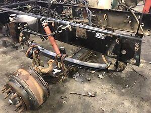 2006 Peterbilt front clip 378 set back axle 16000 lb