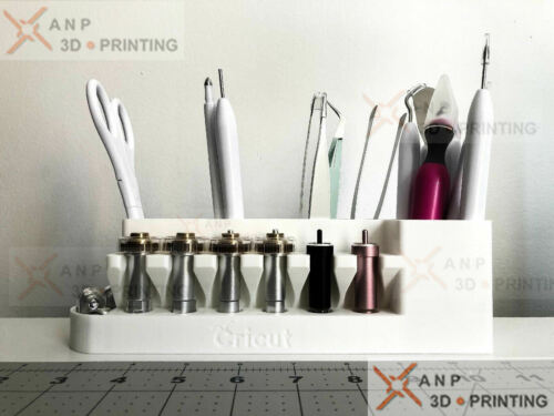 Cricut Tool Holder and Blade Organizer - Blade Caddy for Cricut Tools
