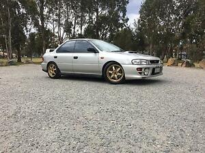 1999 Subaru Impreza WRX GC8 MY99 Oxley Tuggeranong Preview