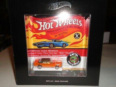 Hot Wheels RLC Redline Club Original 16 CUSTOM COUGAR (3297/6,000)
