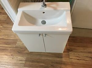 IKEA bathroom sink and cabinet!