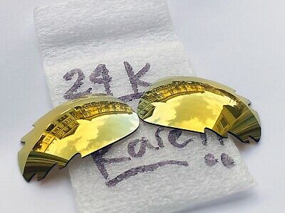 Authentic Oakley Jawbone / Racing Jacket Vented Lenses 24k USED
