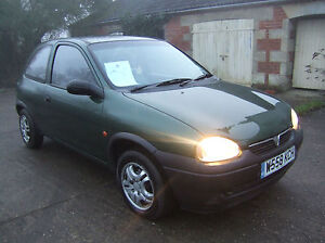 2000-W-VAUXHALL-CORSA-1-0-12V-BREEZE-3DR-GREEN-LOW-MILEAGE-IDEAL-1ST-CAR
