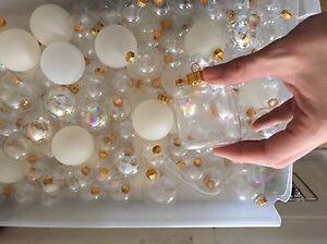 Boule en verre à décorer