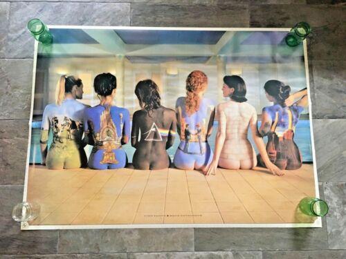 Vintage VTG Pink Floyd Back Catalogue Poster 38x53 Very Rare HUGE