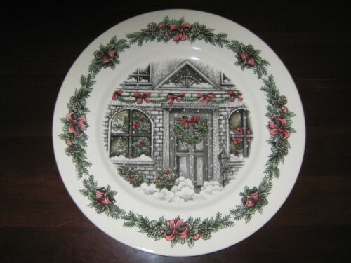 Royal Stafford Burslem Christmas Home Serving Tray, Platter New With Tag