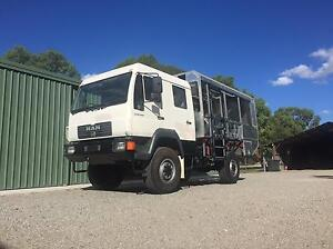 Expedition vehicle MAN off road motorhome project Wattle Grove Kalamunda Area Preview