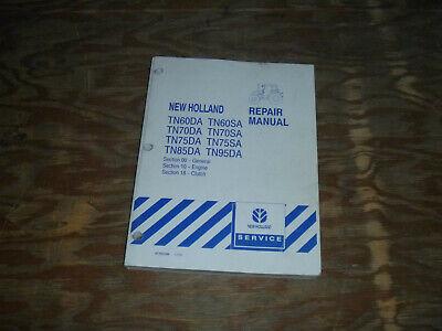New Holland Tn75da Tn75sa Tn85da Tn95da Tractor Engine Service Repair Manual