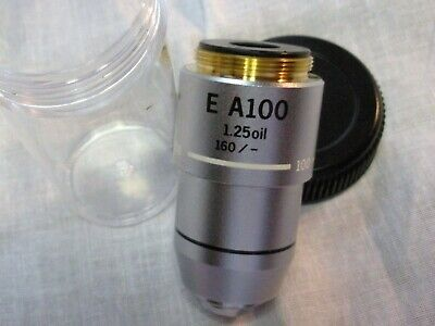 Olympus E A100x Oil 1.25 1600.17 Objective For The Ch30