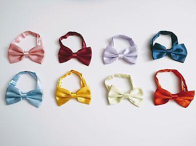 Buy Bow Ties (*BUY 2 GET 1 FREE* Men's Bow Ties, Pre Tied Adjustable Various Colours FREE)