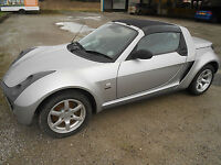 2005 '05' Smart Roadster 0.7 Speedsilver Convertible