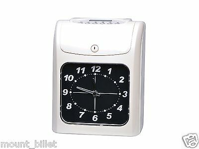 Electronic Employee Analogue Time Recorder Time Clock Wcard Monthlysemimonthly