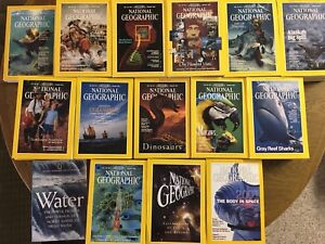 Vintage National Geographic, 1985-1995, 1999-2001