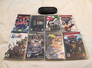 8 jeux PSP avec boitier UMD