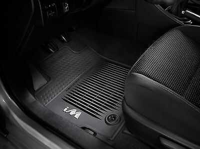 Toyota Corolla iM 2017 All Weather Rubber Floor Mats Set   OEM NEW